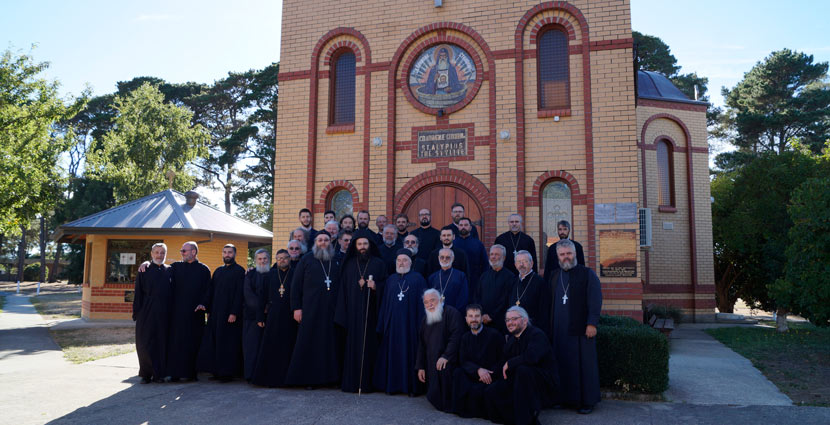 COMMUNIQUE FROM CLERGY ASSEMBLY HELD AT MONASTERY ST. SAVA, ELAINE 2017.