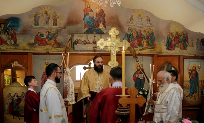 The Serbian Orthodox parish of Saint Naum of Ohrid celebrates its fiftieth anniversary