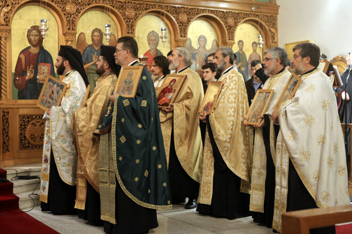 Inter-Orthodox Vespers of Orthodoxy 25.02.2018